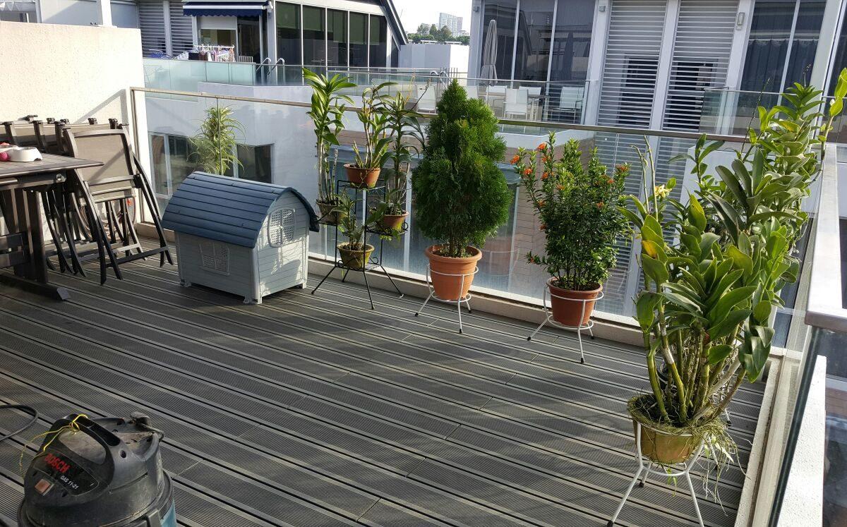 eco wood composite decking