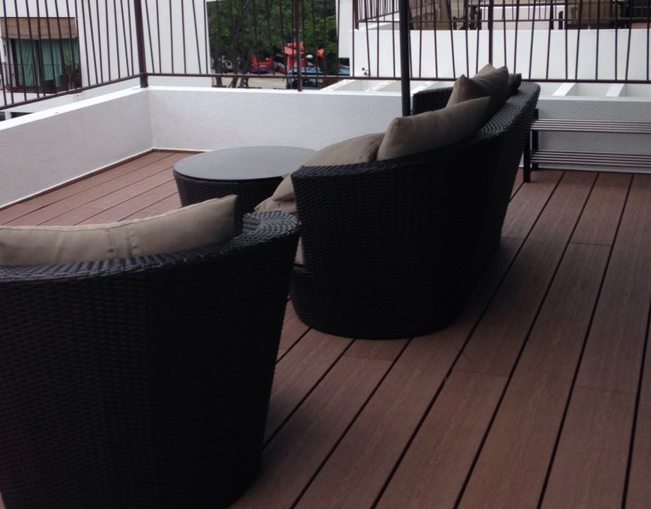 5 types of outdoor decking options in singapore for Vinyl flooring outside porch