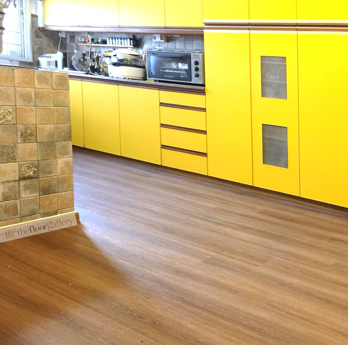 vinyl flooring installation