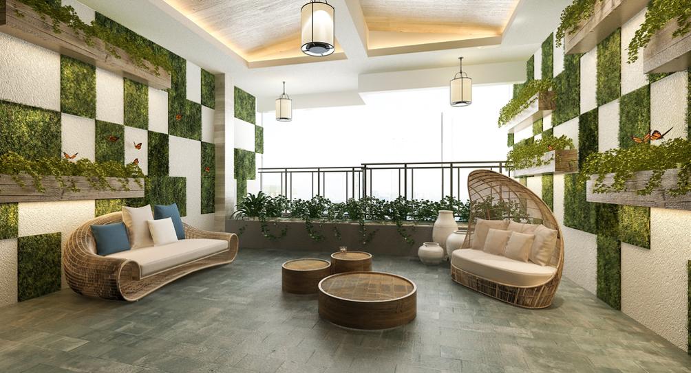 Balcony Design Ideas- The Best Outdoor Flooring Options
