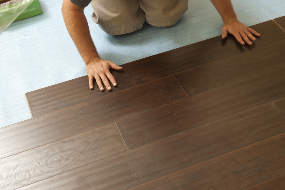 DIY Project- Installing Vinyl Flooring on Your Own