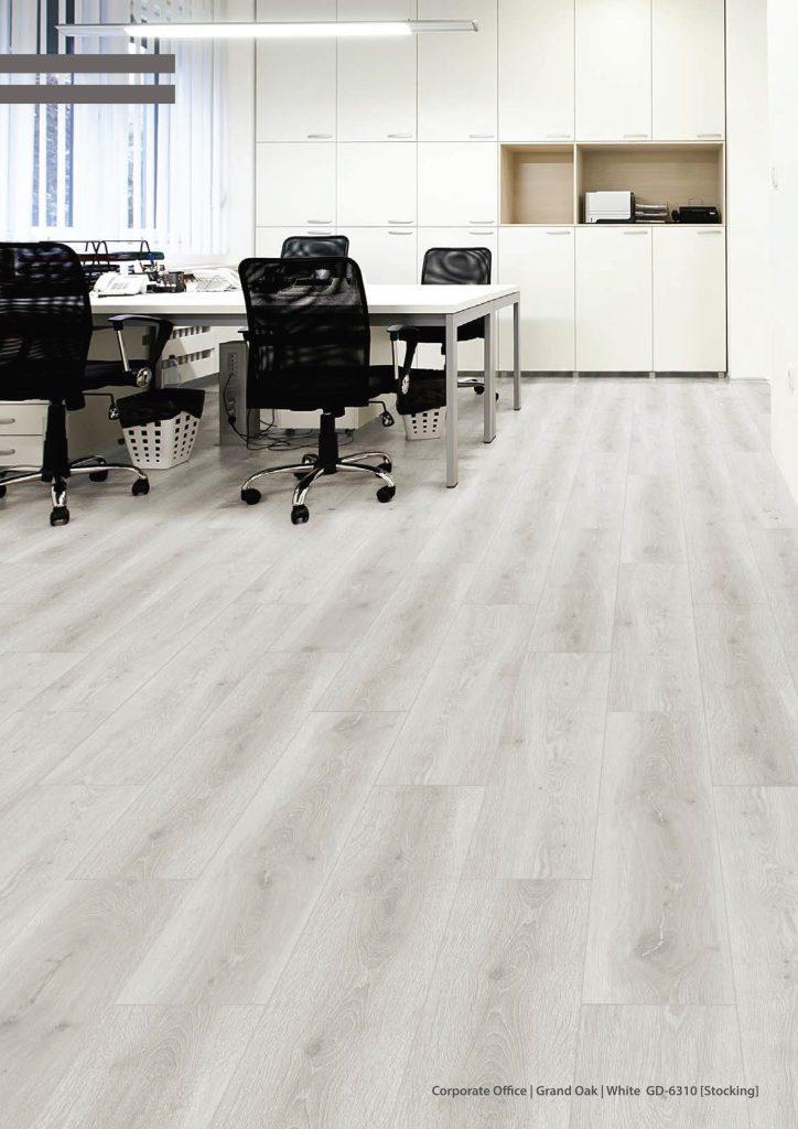 Grand Oak White Room Motif EPRF Vinyl Flooring