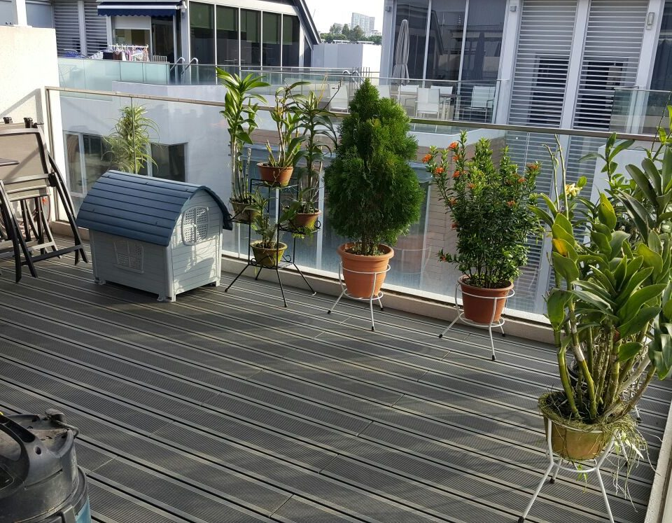 eco wood composite decking