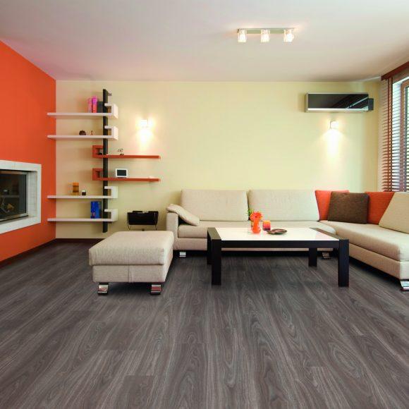 Paradise Walnut 28857 Room With EVF Flooring