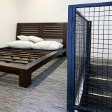 attic bed woven vinyl